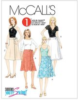 Mccall's M5430 Misses' Wrap Skirts
