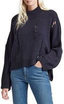 French Connection Women's Nixo Distressed Sweater