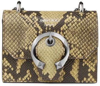 Jimmy Choo mini Paris leather crossbody bag