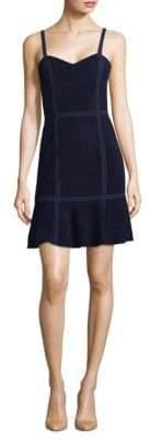 Alice + Olivia Desmond Suede Dress
