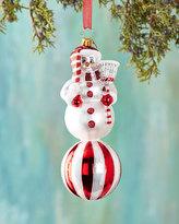 Christopher Radko Cherry Ice Pose Christmas Ornament
