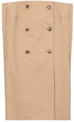 MM6 MAISON MARGIELA Cotton gabardine midi skirt