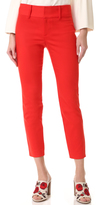 Alice + Olivia Cadence Cropped Trousers