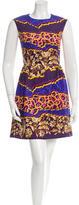 Peter Pilotto Printed Silk Mini Dress w/ Tags