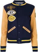 Polo Ralph Lauren embellished wool bomber jacket