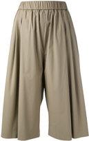 Fabiana Filippi Wide leg soft short trousers - women - Cotton/Spandex/Elastane/Polyester - 40