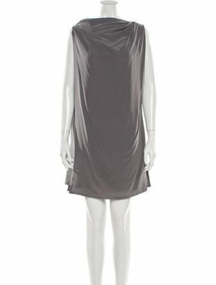 Rick Owens 2018 Mini Dress Grey