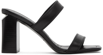 Alexander Wang Black Hayden Heeled Sandals