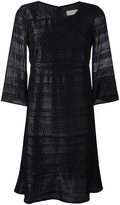 L'Autre Chose metallic detail knit dress