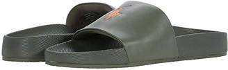 Polo Ralph Lauren Cayson (Olive/Orange) Men's Shoes