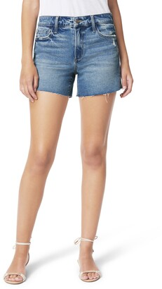 Joe's Jeans The Ozzie Distressed Cutoff Denim Shorts