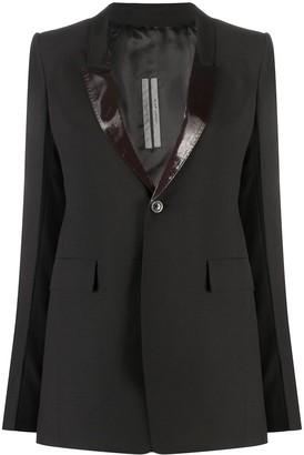 Rick Owens Longline Tailored Blazer