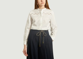 Tara Jarmon English Embroidery Shirt - 36