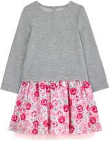Cath Kidston Broomfield Blooms Girls Sweat Mix Dress