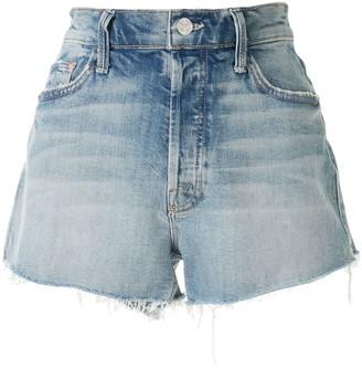 Mother Frayed Denim Shorts