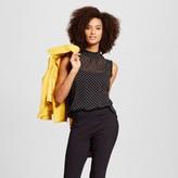 Who What Wear Women's Ruffle Trim Shell