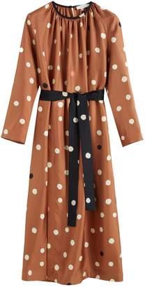 Parker Chinti & Ginger Painted Spot Silk Dress