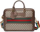 Gucci GG Supreme briefcase with Web