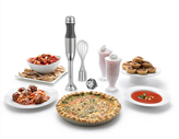KitchenAid Silver Immersion Hand Blender w/ Accessories