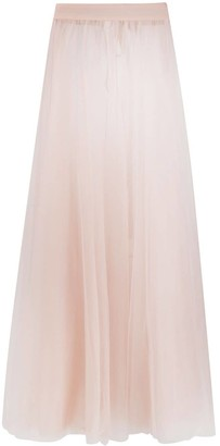 Loulou tulle maxi skirt