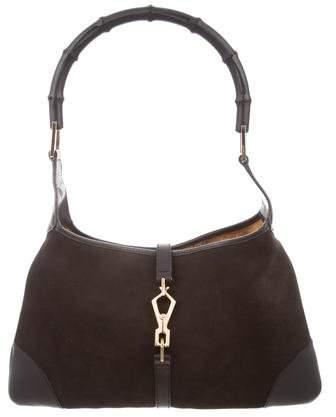 5dd3bf22786d49 Gucci Jackie Black Bag - ShopStyle