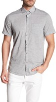 Report Collection Short Sleeve Fleck Horizon Print Shirt