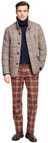 Brooks Brothers Tweed Quilted Jacket