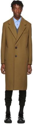 Wooyoungmi Tan Wool Coat