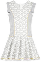 Sean John Geo-Print Scuba Dress, Big Girls (7-16)