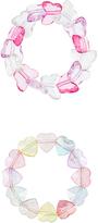 Accessorize 2x Butterfly Stretch Bracelets