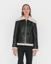 Helmut Lang Aviator Shearling Jacket