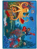 "Educational Fish Tales Kids Rug Rug Size: 5'4"" x 7'8"""