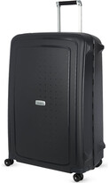 Samsonite S'cure DLX spinner 81 four-wheeled suitcase, Graphite