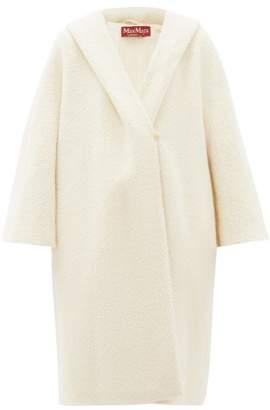 Max Mara Ulro Coat - Womens - White