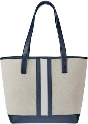GiGi New York Baja Canvas Two-Tone Tote Bag