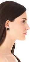 House Of Harlow Sunburst Button Earrings