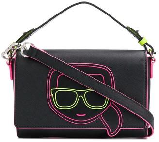 Karl Lagerfeld Paris K/Ikonik neon crossbody bag