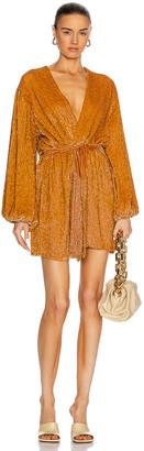 retrofete Gabrielle Robe Dress in Honey | FWRD