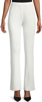 Misook Petite Boot-Cut Knit Pants