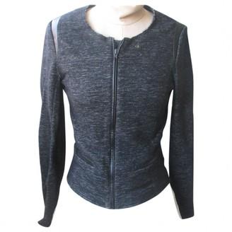 Ikks Grey Wool Jacket for Women