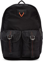 Diesel Black F-cross Backpack