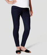 LOFT Maternity Skinny Jeans in Dark Indigo Wash