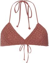 Mikoh Mokulua Crocheted Bikini Top