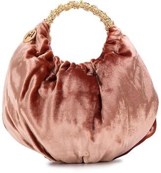 Rosantica Impero velvet handbag