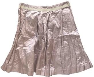 See by Chloe Pink Cotton Skirt for Women