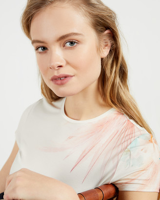 Ted Baker SERAHNA Printed fitted tee