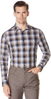 Perry Ellis Ombre Plaid Check Shirt