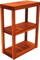 Hudson Furniture Teak Tower Rectangular Stand