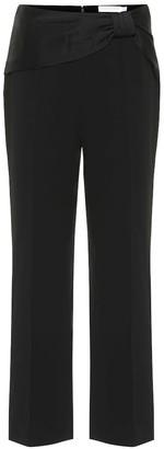 Jonathan Simkhai High-rise straight-leg pants