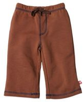 Zutano French Terry Drawstring Pant in Chocolate